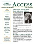 Wright State University Libraries Access Newsletter Winter Quarter 2003