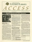 Wright State University Libraries Access Newsletter  Volume 3, Number 1, Winter 1994