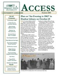 Wright State University Libraries Access Newsletter Summer 2003