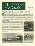 Wright State University Libraries Access Newsletter Spring 1995