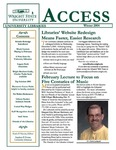 Wright State University Libraries Access Newsletter Winter 2004