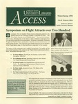 Wright State University Libraries Access Newsletter Winter/Spring 1996