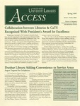 Wright State University Libraries Access Newsletter Spring 1997
