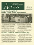 Wright State University Libraries Access Newsletter September 1997