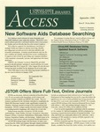 Wright State University Libraries Access Newsletter September 1998