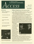 Wright State University Libraries Access Newsletter August 1999