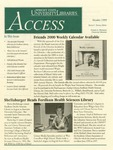 Wright State University Libraries Access Newsletter October 1999