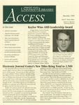 Wright State University Libraries Access Newsletter December 1999