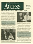 Wright State University Libraries Access Newsletter April 2000