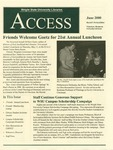 Wright State University Libraries Access Newsletter June 2000