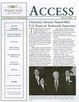 Wright State University Libraries Access Newsletter March 2001