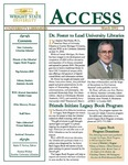 Wright State University Libraries Access Newsletter March 2002