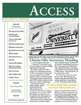Wright State University Libraries Access Newsletter Winter 2007