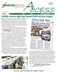 Wright State University Libraries Access Newsletter Fall 2010