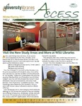 Wright State University Libraries Access Newsletter Winter/Spring 2011 by Wright State University Libraries