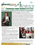 Wright State University Libraries Access Newsletter Summer 2011