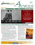 Wright State University Libraries Access Newsletter Winter 2012 by Wright State University Libraries