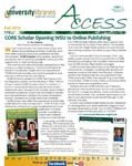 Wright State University Libraries Access Newsletter Fall 2012