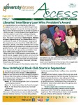 Wright State University Libraries Access Newsletter Fall 2013 by Wright State University Libraries