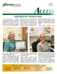 Wright State University Libraries Access Newsletter Fall 2014