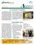 Wright State University Libraries Access Newsletter Spring 2015 by Wright State University Libraries