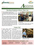 Wright State University Libraries Access Newsletter Winter 2015 by Wright State University Libraries