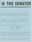 Wright State University Alternative Newspaper: The Senator, Volume 1, Number 1, July 17, 1968