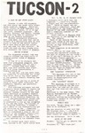 Wright State University Alternative Newspaper: Tucson-2, Vol. 1, No. 2, 17 January 1969 by Wright State University Student Body