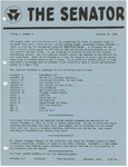 Wright State University Alternative Newspaper: The Senator, Volume 1, Number 8, October 30, 1968 by Wright State University Student Body
