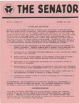 Wright State University Alternative Newspaper: The Senator, Volume 1, Number 10, November 20, 1968