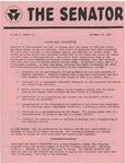 Wright State University Alternative Newspaper: The Senator, Volume 1, Number 10, November 20, 1968