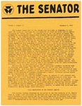 Wright State University Alternative Newspaper: The Senator, Volume 1, Number 11, December 5, 1968