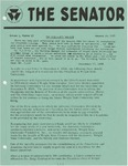 Wright State University Alternative Newspaper: The Senator, Volume 1, Number 13, January 16, 1969 by Wright State University Student Body
