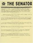 Wright State University Alternative Newspaper: The Senator, Volume 1, Number 13, January 24, 1969 by Wright State University Student Body