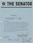 Wright State University Alternative Newspaper: The Senator, Special Bulletin, May 1969 by Wright State University Student Body