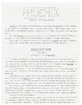Wright State University Alternative Newspaper: Phoenix, Vol. 1, No. 1, November 11, 1968 by Wright State University Student Body