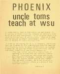 Wright State University Alternative Newspaper: Phoenix, Volume I, Issue III, November 25, 1968
