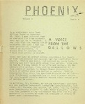 Wright State University Alternative Newspaper: Phoenix, Volume I, Issue V, December 9, 1968