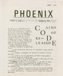 Wright State University Alternative Newspaper: Phoenix, Volume II, Issue 6, January 6, 1969 by Wright State University Student Body