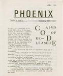 Wright State University Alternative Newspaper: Phoenix, Volume II, Issue 6, January 6, 1969 by Wright State University Student Body