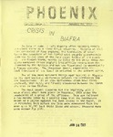 Wright State University Alternative Newspaper: Phoenix, Vol. II, Issue 2, January 13, 1969 by Wright State University Student Body