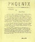 Wright State University Alternative Newspaper: Phoenix, Vol. II, Issue 2, January 13, 1969 by Wright State University Student Body