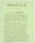 Wright State University Alternative Newspaper: Phoenix, Week of Jan. 27, 1969