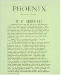 Wright State University Alternative Newspaper: Phoenix, Week of Jan. 27, 1969 by Wright State University Student Body