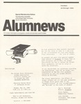 AlumNews, May 1982 by Alumni Association, Wright State University