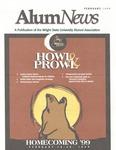 AlumNews, February 1999