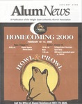 AlumNews, January 2000 by Alumni Association, Wright State University