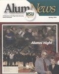 AlumNews, Spring 2004 by Alumni Association, Wright State University
