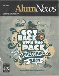 AlumNews, Fall 2007 by Alumni Association, Wright State University