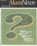 AlumNews, Winter 2008 by Alumni Association, Wright State University